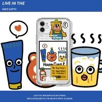 YINUO 以诺 苹果系列 卡通手机壳