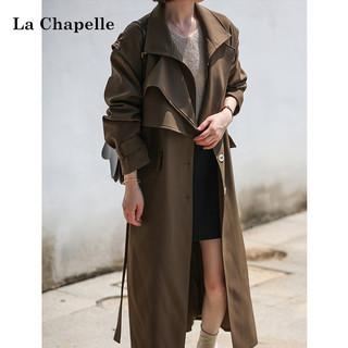 La Chapelle 拉夏贝尔 女士风衣外套 913613483