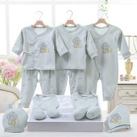 亿婴儿 婴儿礼盒套装新生儿衣服母婴宝宝满月百天礼物用品2605 绿色 59