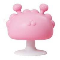 DUDI 嘟迪 婴儿粉色蘑菇牙胶+收纳盒