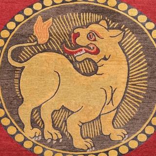 指尖下的藏毯〖西藏喀瓦坚艺术原始手织地毯专场〗艺典中国 9月28日22时截拍 | 拍卖日历