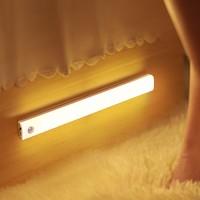 心有所属 无线人体感应灯楼道小夜灯卧室床头灯氛围夜光灯衣柜橱柜灯过道走廊灯led小灯
