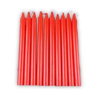 家用红白蜡烛 1.5*17cm 10支装