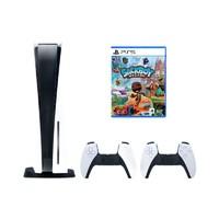 SONY 索尼 国行 PS5 PlayStation5光驱版主机&手柄&麻布仔套装