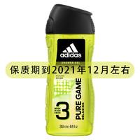 adidas ORIGINALS 阿迪达斯 沐浴露温和洁肤250ml*2(欧洲进口)