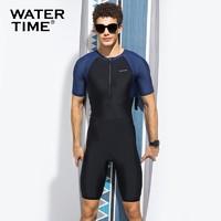 WATERTIME W 蛙咚 9201229640 男士连体泳衣
