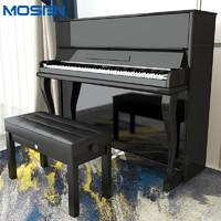 MOSEN 莫森 MS-121B立式钢琴 88键演奏真钢琴1-10级 121CM 星空系列
