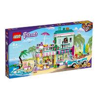 LEGO 乐高 好朋友系列 41693 冲浪者海滨度假屋