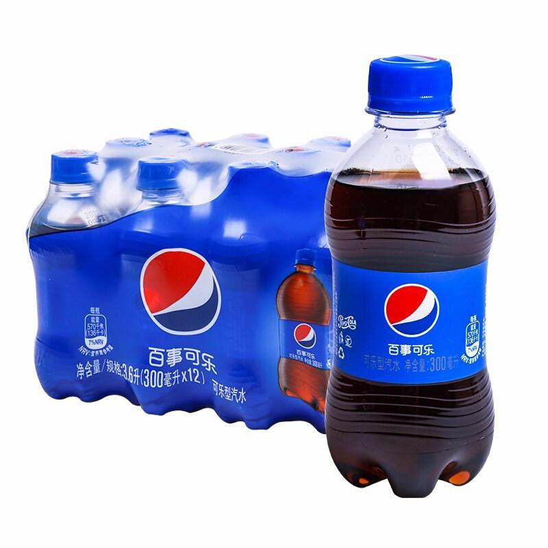 pepsi 百事 可乐  汽水 碳酸饮料 300ml*6瓶