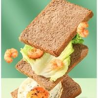 liangpinpuzi 良品铺子 低脂全麦面包整箱装 黑麦吐司 1000g