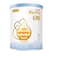illuma 启赋 蓝钻系列 较大婴儿奶粉 国行版 2段 350g
