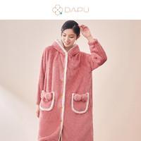 DAPU 大朴 秋冬可爱熊保暖加厚睡袍
