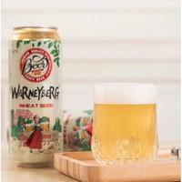 Warney Berg 沃尼伯格 荷兰风味小麦白啤酒 500ml*6罐