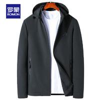 ROMON 罗蒙 男士短款连帽夹克 S6J205813