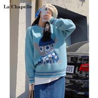 La Chapelle 拉夏贝尔 913613451 女士宽松慵懒毛衣