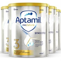 88VIP:Aptamil 爱他美 澳洲白金版 全新升级DHA叶黄素配方奶粉 3段 900g*4