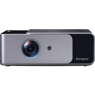Dangbei 当贝 f1投影仪 家用1080p超高清投影机 电脑投屏手机投影一体机 4K无屏电视
