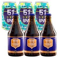 CHIMAY 智美 蓝帽修道院啤酒 精酿 330ml*6瓶