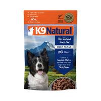 88VIP:k9 Natural K9 Natural 全犬期冻干牛肉狗粮 500g