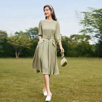 xiangying 香影 女士收腰连衣裙 Q813205480