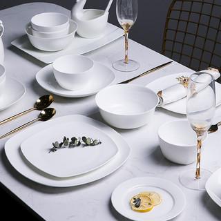 轻奢简约 餐具套装 30件套 月白