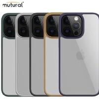 PLUS会员:mutural 透明手机壳 苹果13(多色可选)