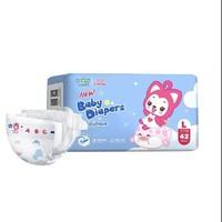 88VIP:Insoftb 婴舒宝 弱酸芯动 婴童纸尿裤 L42片