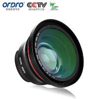 Ordro/欧达 4K超大广角微距镜镜头高清摄像机通用三合一套装拍照单反外置摄像头 黑色