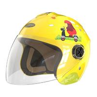 smart4u KH2 小行猩系列 儿童头盔 3C认证款 蜜蜂黄 50-55cm