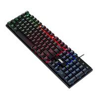 AOC 有线键盘 商务办公台式机电脑一体机笔记本键盘 KB121游戏款