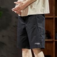 TONLION 唐狮 62321009246190 男士宽松工装短裤