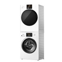 Panasonic 松下 N92WT+EH900W 热泵式洗烘套装 白色