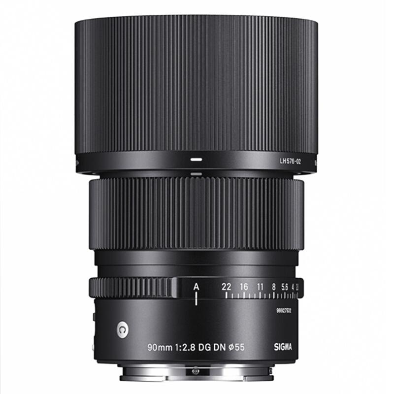 SIGMA 适马 90mm F2.8 DG DN | Contemporary 定焦镜头 索尼E卡口 55mm