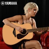 YAMAHA 雅马哈 FG系列 FG830 民谣吉他 原声款 41寸 原木色 亮光
