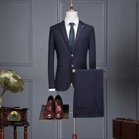 ROMON 罗蒙 S1F032F01 男士羊毛西服套装
