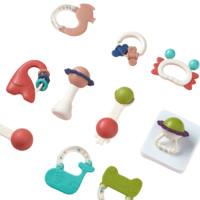 babycare 7220 趣味牙胶摇铃 10件套+藤球摇摇乐+视觉发育卡