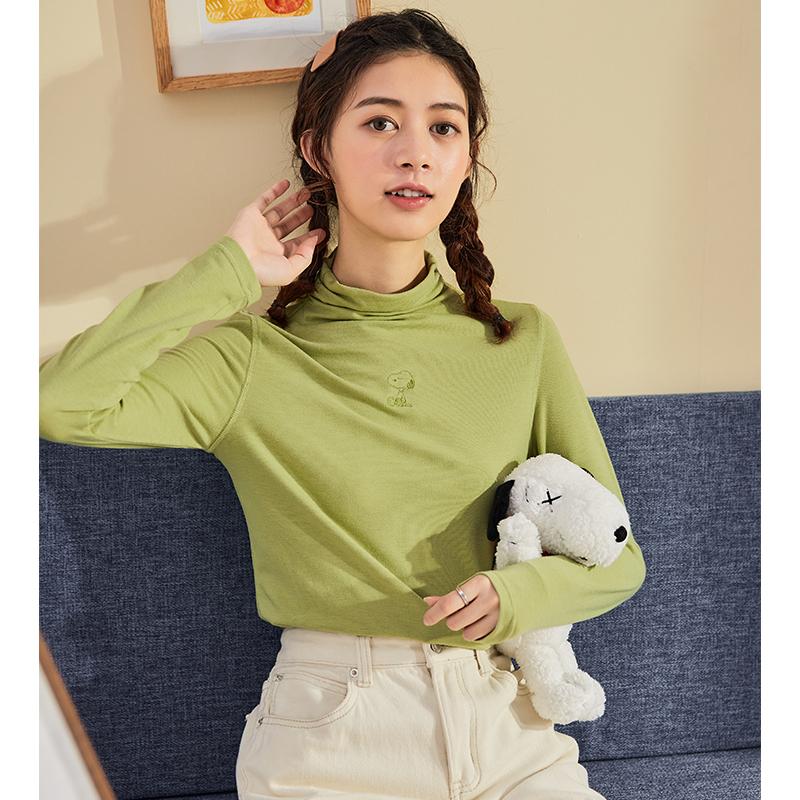 TONLION 唐狮 X 史努比 联名系列 女士针织衫 625320023409