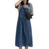 La Chapelle 拉夏贝尔 女士牛仔背带裙 912613126