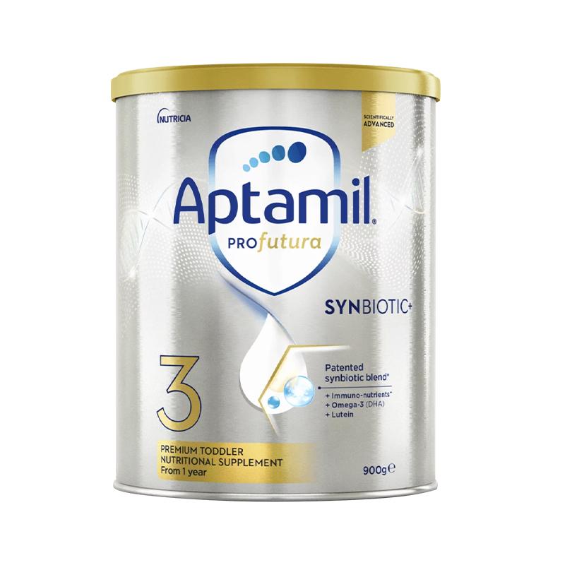 Aptamil 爱他美 澳洲白金版 婴儿配方奶粉 3段 900g