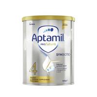 限新用户:Aptamil 爱他美 澳洲白金版 婴儿配方奶粉 4段 900g
