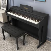 名森 88键重锤电子钢琴烤漆款 MS-05经典黑