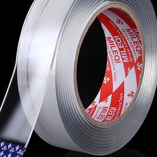 Mileqi 米乐奇 纳米双面胶 强粘型 3.0cm*1m 单卷