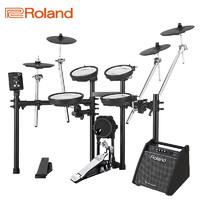 Roland 罗兰 TD-1DMKX 专业演奏便携儿童练习演出爵士鼓通用电子鼓架子鼓套装+罗兰音箱