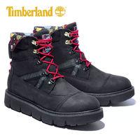 Timberland 添柏岚 男鞋2021秋季新款户外运动鞋高帮复古靴子黑色休闲鞋A2PWS