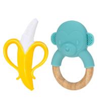 Nuby 努比 宝宝牙胶 香蕉+猴子