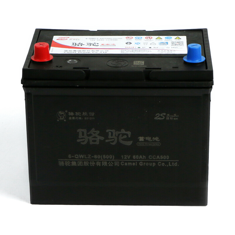 CAMEL 骆驼 汽车电瓶蓄电池 6-QW-60(2S) 12V