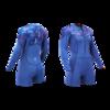 AZTRON AURORA 女子潜水服 AA-WSA-W 深蓝色 S
