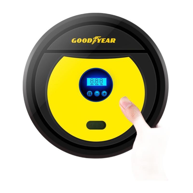 固特异(Goodyear) 电动车载充气泵 数显