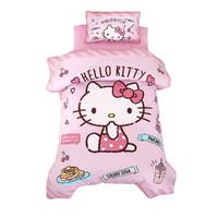 Hello Kitty 凯蒂猫 幼儿园被子6件套纯棉儿童被褥套宝宝午睡入园准备床上用品六件套