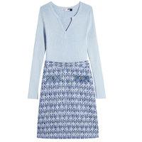 10点开始:LILY 丽丽 121110C7254430 女士针织连衣裙
